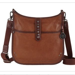 The Sak Vista Leather cross body purse